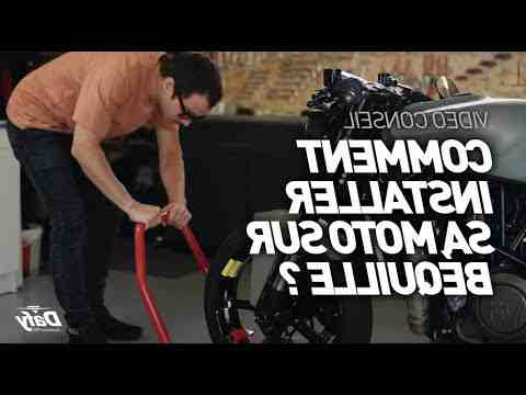 Comment choisir bequille moto ?